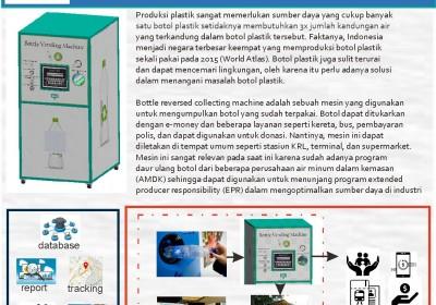 Bottle Reversed Collecting Machine, Tingkatkan Circular Economy dan Jadikan Industri Daur Ulang Plastik Unggul