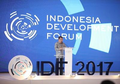 Wapres: Indonesia Development Forum Harus Efektif Kurangi Ketimpangan