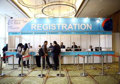 IDF 2017 : Hari Pertama - Registrasi