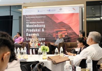 Diskusi Road to Indonesia Development Forum (IDF) 2018  Visi Batubara Nasional