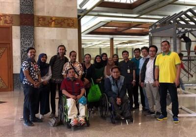 Uji Akses Lokasi IDF 2019: Memastikan Ramah untuk Penyandang Disabilitas