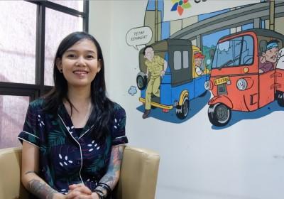 Meet the Leader Hana Madness (Seniman Bipolar): Dukung Penyandang Disabilitas Mental Lewat Lukisan Warna-warni