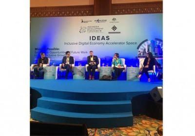 MAPAN Sebagai Pintu Masuk Masyarakat Menjadi Melek Keuangan dalam Indonesian Development Forum 2019