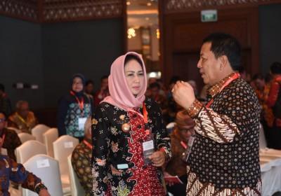 Hadiri Acara Indonesia Development Forum, Bupati Berharap Pemerintah Pusat Dapat Bersinergi Dengan Pemerintah Provinsi