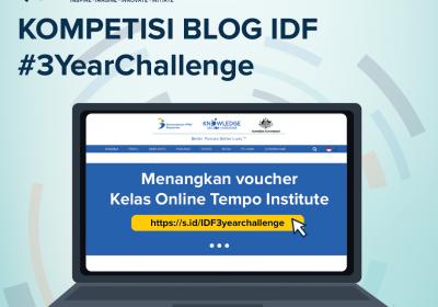 Kompetisi Blog IDF #3YearChallenge