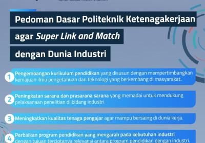 Politeknik Ketenagakerjaan Harus Super Link and Match dengan Dunia Industri