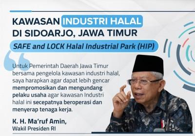 Dukung Kawasan Industri Halal, Pemda Jatim Perlu Bangun Fasilitas yang Memadai