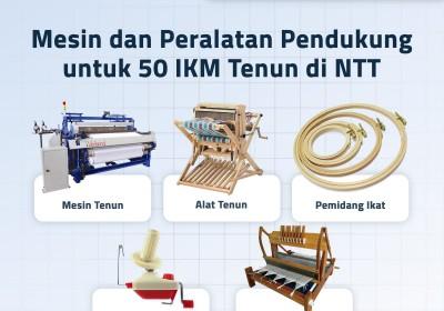 Mesin dan Peralatan Pendukung untuk 50 IKM Tenun di NTT